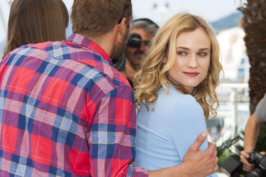 Matthias Schoenaerts et Diane Kruger à Cannes le 16 mai 2015