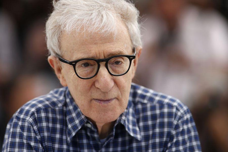 Woody Allen à Cannes le 15 mai 2015