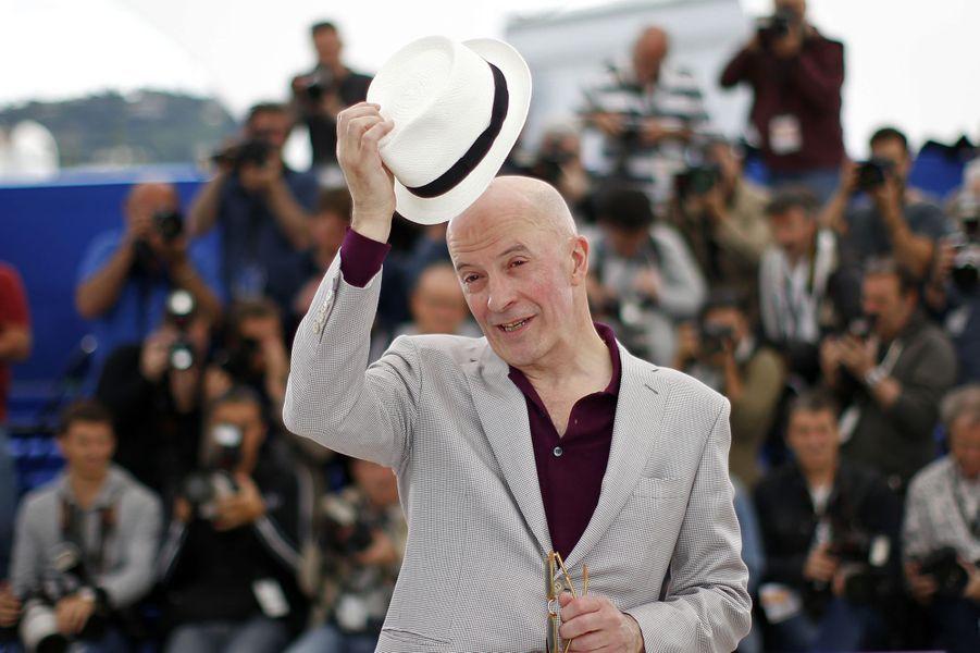 Jacques Audiard à Cannes le 21 mai 2015