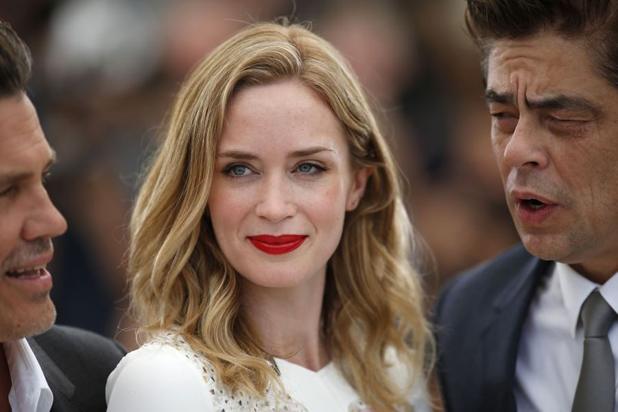 Emily Blunt à Cannes le 19 mai 2015
