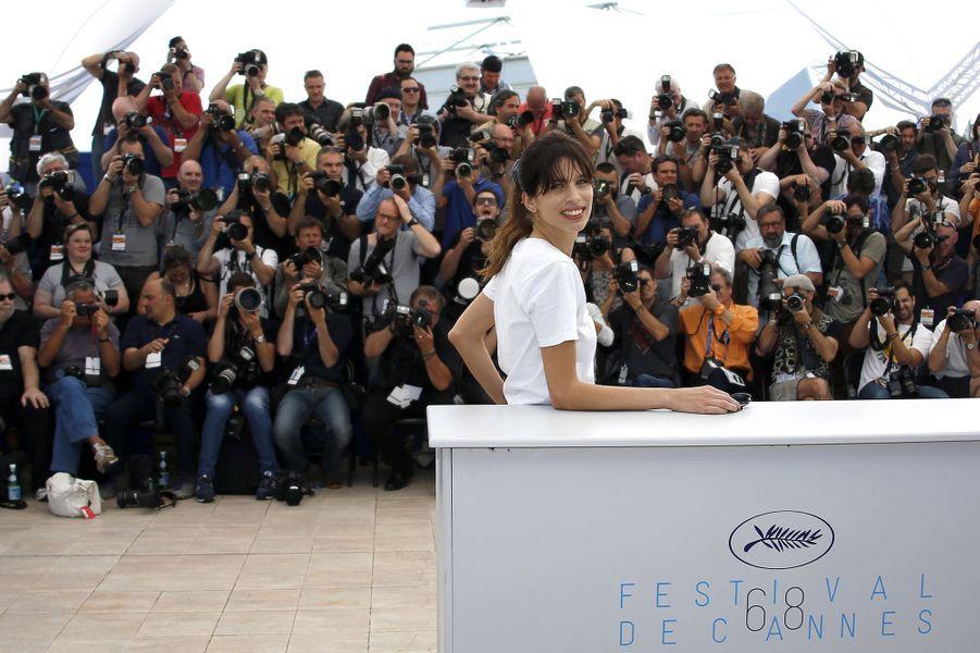 Maïwenn à Cannes le 17 mai 2015