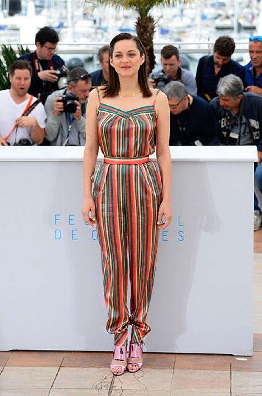 Marion Cotillard à Cannes le 23 mai 2015