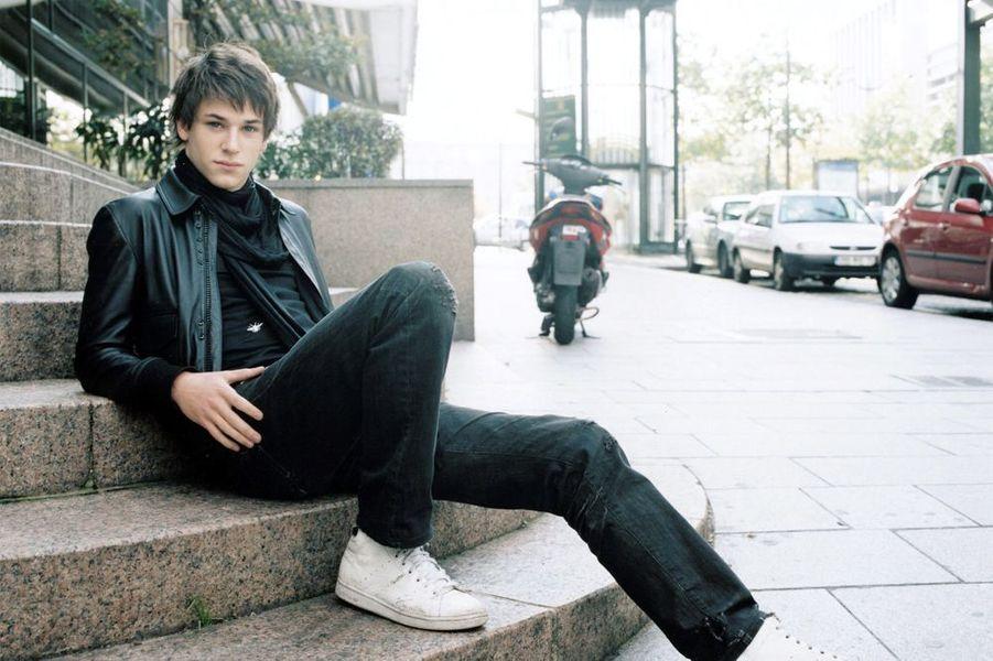 Gaspard Ulliel pour Paris Match en 2004