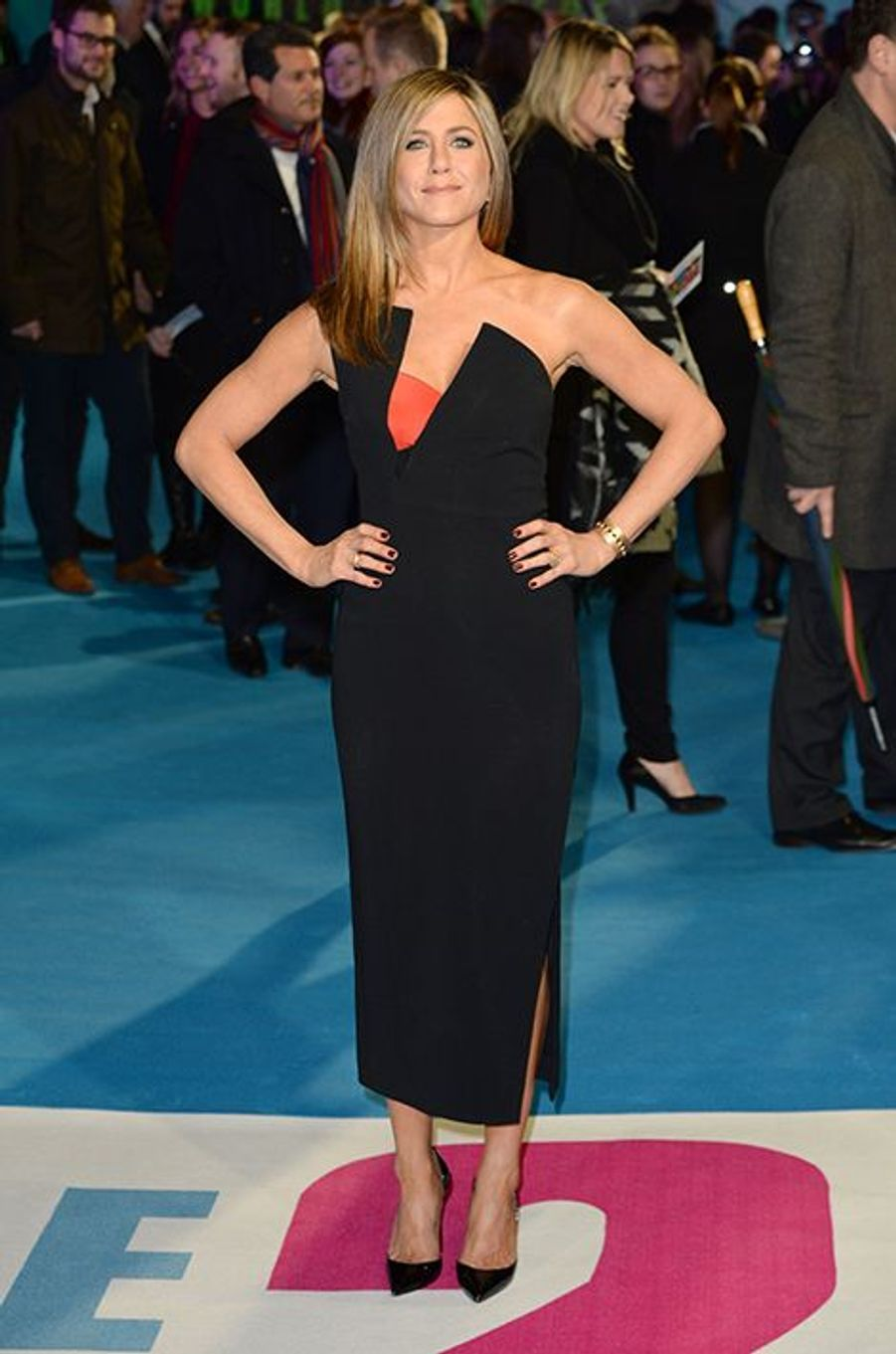 Jennifer Aniston à Londres le 12 novembre 2014