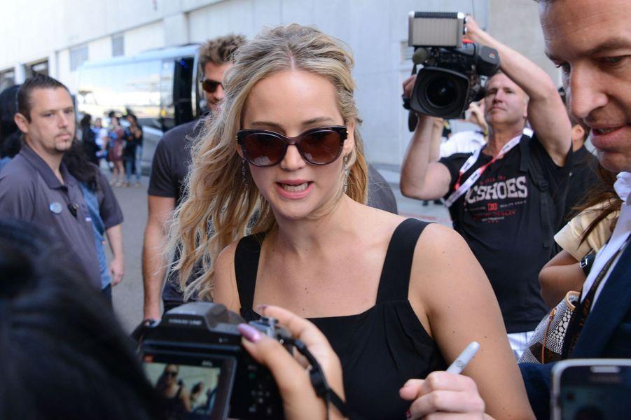 Jennifer Lawrence à San Diego le 9 juillet 2015