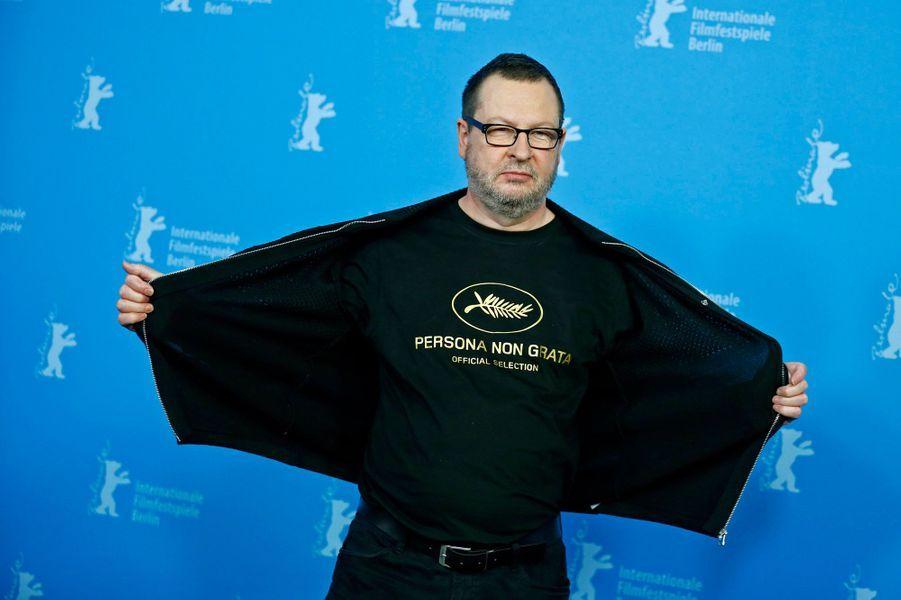 Lars von Trier et son fameux tee-shirt