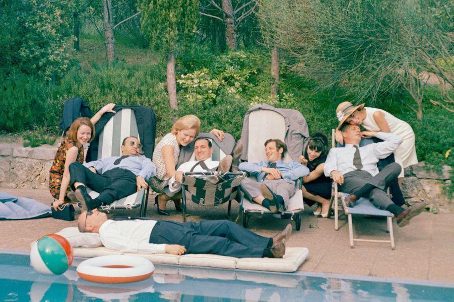 « Cent mille dollars au soleil » d'Henri Verneuil avec Lino Ventura, Jean-Paul Belmondo, Reginald Kernan et Michel Audiard. France. 1964