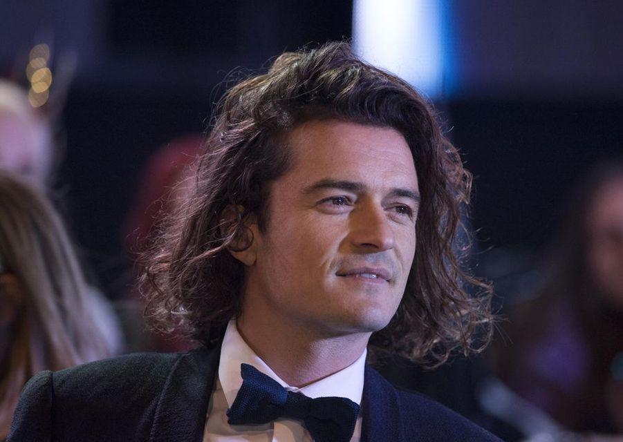 Orlando Bloom à Londres le 1er décembre 2014