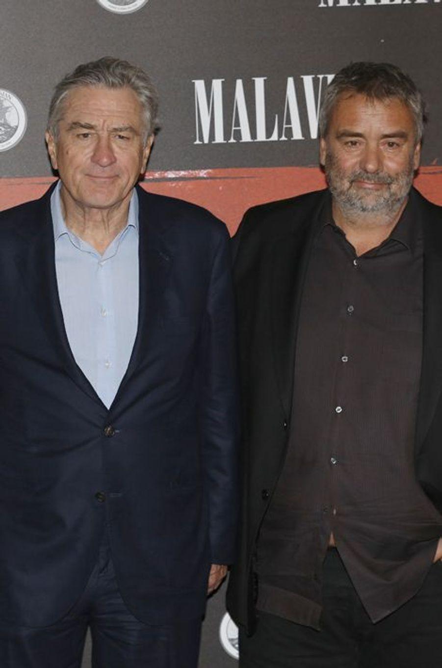 Robert de Niro et Luc Besson