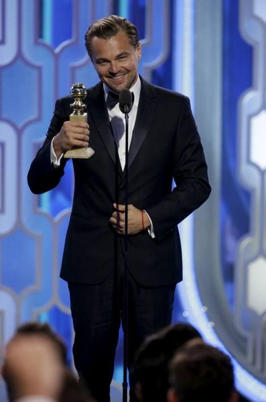 Meilleur acteur dans un drame: Leonardo DiCaprio - The Revenant
