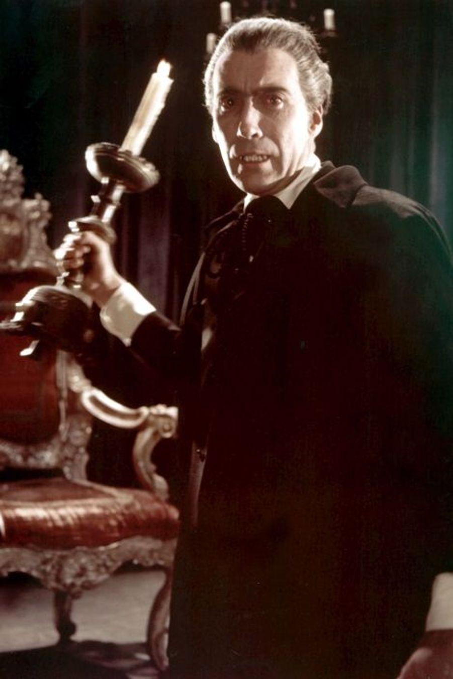 """Le comte Dracula dans """"Le Cauchemar de Dracula"""" (1958)"""