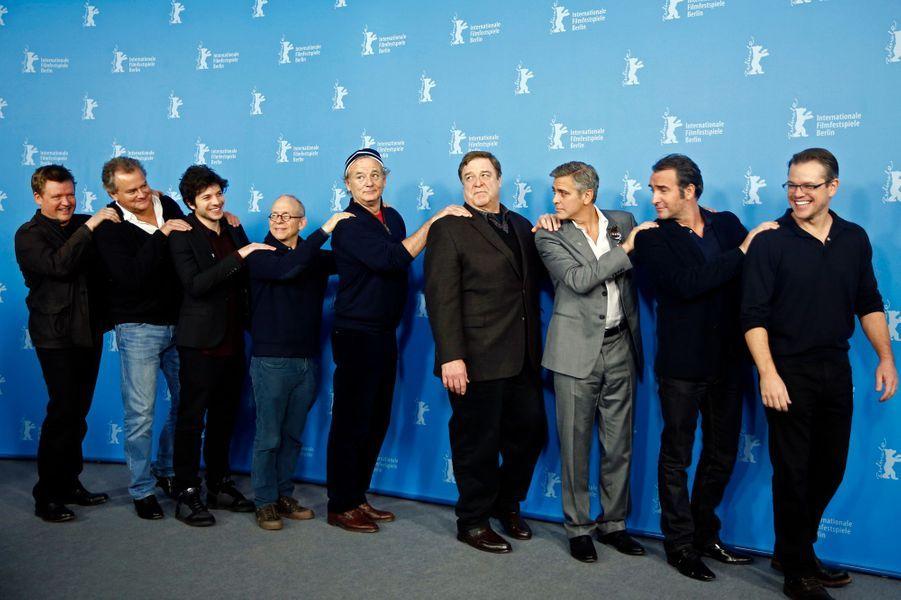 """La joyeuse équipe des """"Monuments Men"""""""