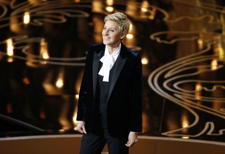 Ellen DeGeneres, présentatrice de choc