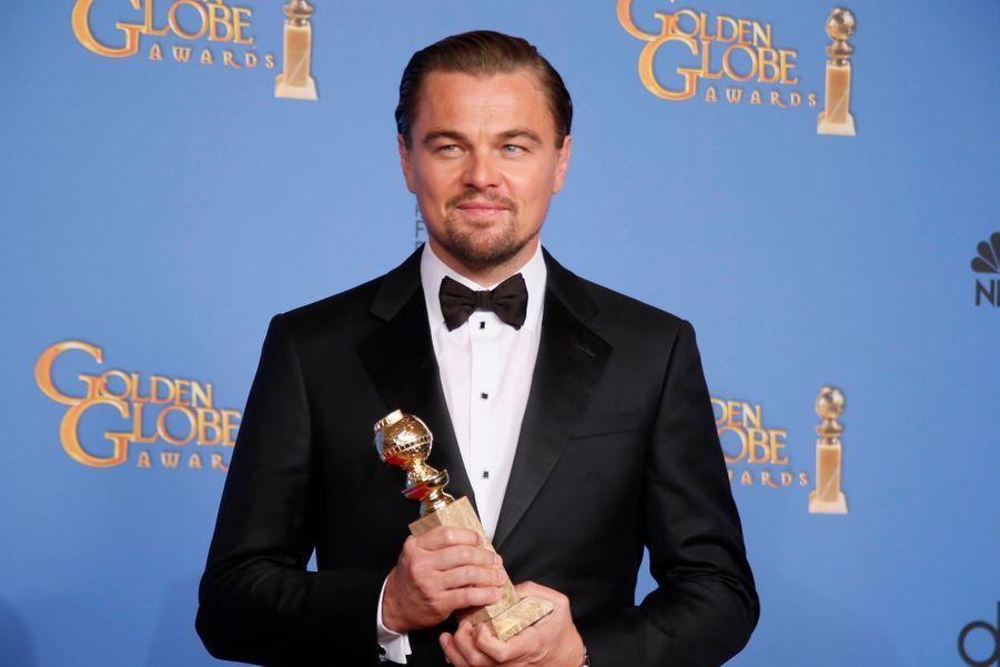 """Leonardo DiCaprio (meilleur acteur dans un rôle comique pour """"Le Loup de Wall Street"""")"""