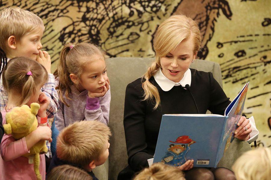 """Nicole Kidman fait la lecture de """"Paddington"""""""