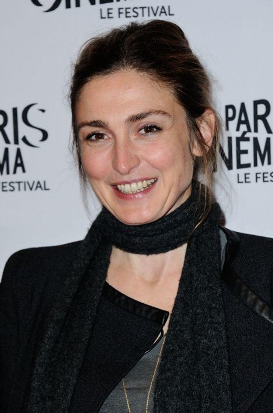 """Julie Gayet, actrice et co-réalisatrice du documentaire """"Cinéast(e)s"""""""