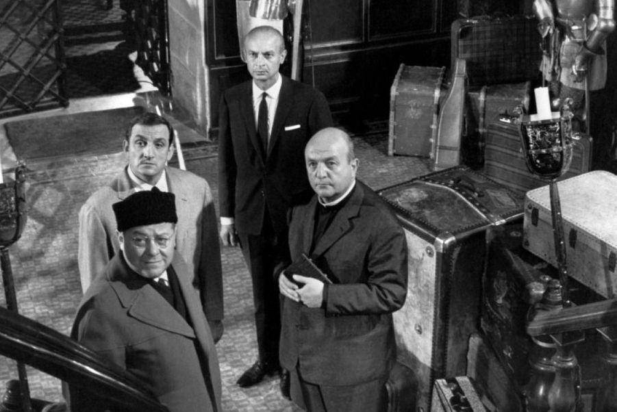 """1964 - """"Les Barbouzes"""", avec Lino Ventura, Bernard Blier et Francis Blanche"""