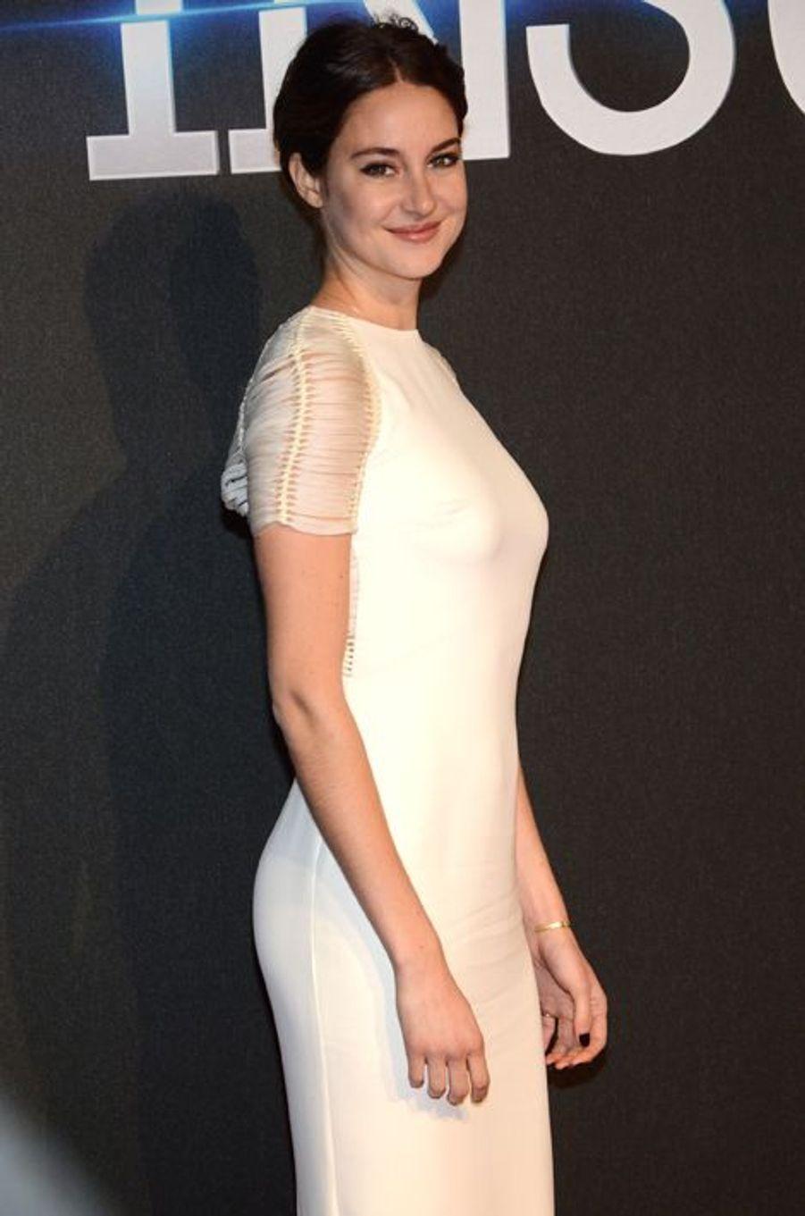 Shailene Woodley à Londres le 11 mars 2015