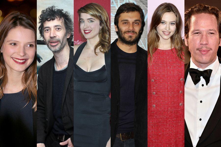 Joséphine Japy, Eric Elmosnino, Adèle Haenel, Pio Marmaï, Lou de Laâge et Reda Kateb sont les nominés 2015