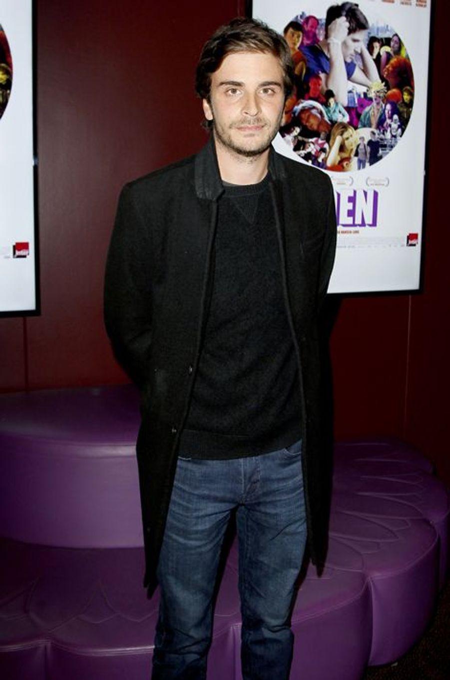 Roman Kolinka à Paris le 18 novembre 2014