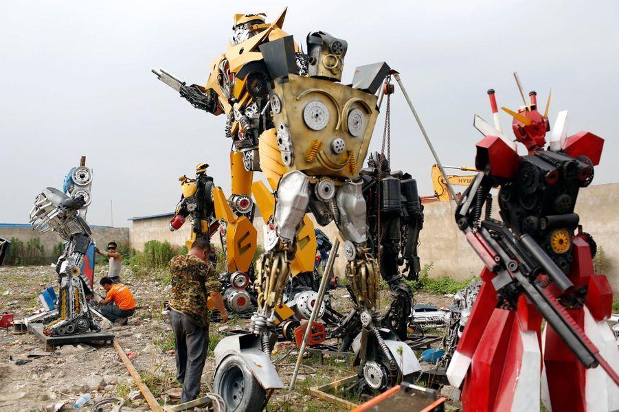 """Transformers"" version Mécano"