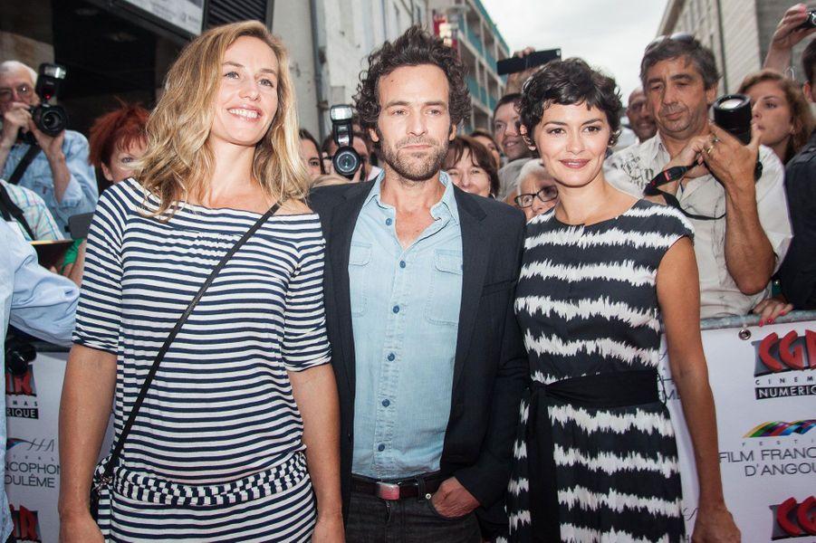 Audrey Tautou, Cécile de France et Romain Duris