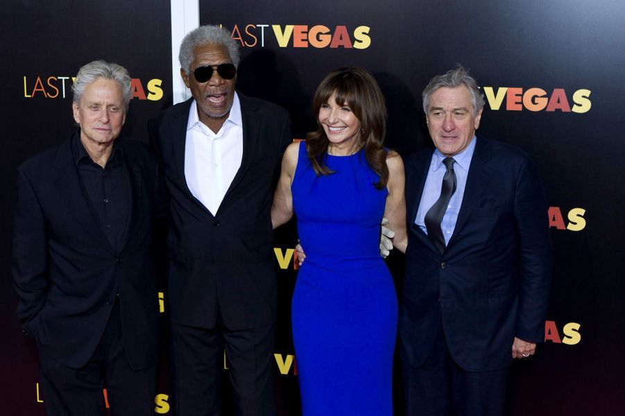 Michael Douglas, Morgan Freeman, Mary Steenburgen et Robert de Niro