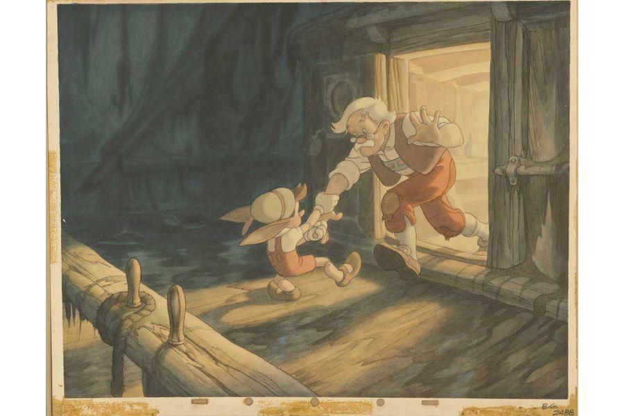 Concept art de «Pinnochio».