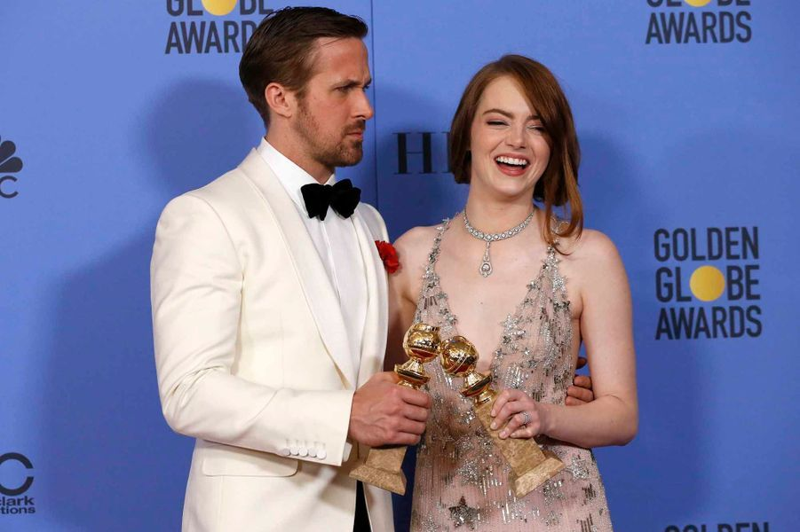 Ryan Gosling et Emma Stone, le couple de «La La Land».