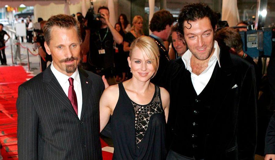Vincent joue avec Viggo Mortensen et Naomi Watts dans Les promesses de l'ombre (Eastern promises) de David Cronenbergoerffer, en 2007.