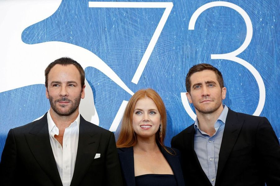 Tom Ford, Amy Adams et Jake Gyllenhaal