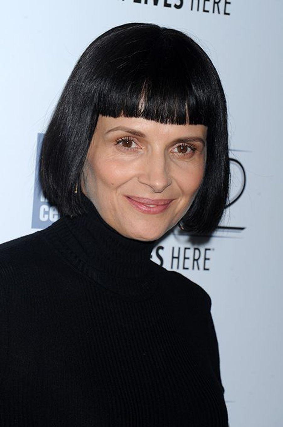 Juliette Binoche au Festival du film de New York le 8 octobre 2014