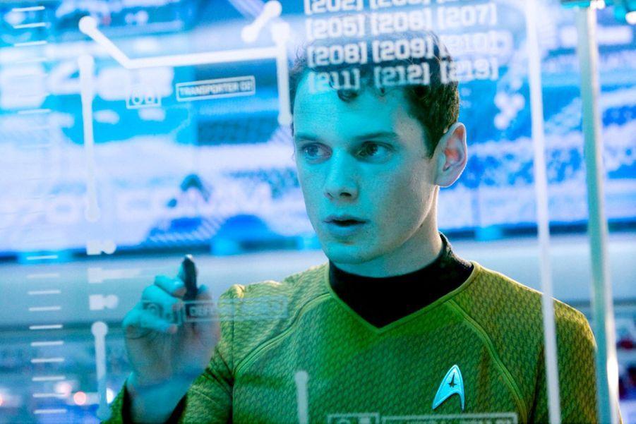 """Anton Yelchin dans """"Star Trek"""" de J.J. Abrams en 2009"""