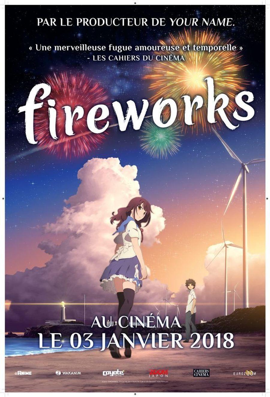 Fireworksde Akiyuki Shinbo et Nobuyuki Takeuchi (sortie le 3 janvier)