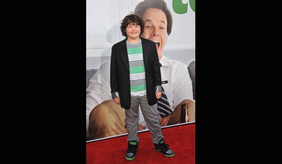 Le jeune acteur Aedin Mincks