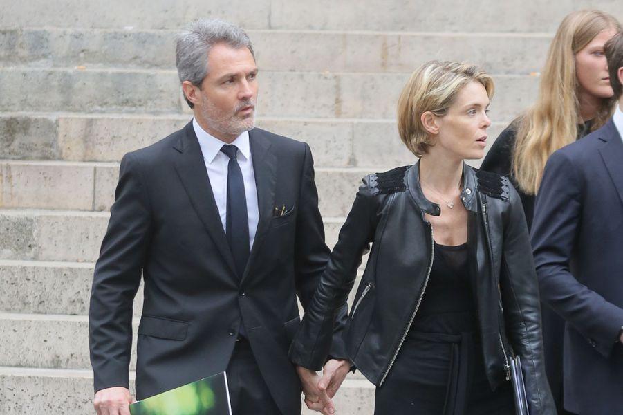 Stéphane Delajoux et Julie Andrieu