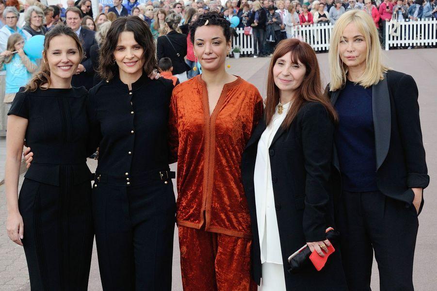 Virginie Ledoyen, Juliette Binoche, Loubna Abidar, Ariane Ascaride et Emmanuelle Béart