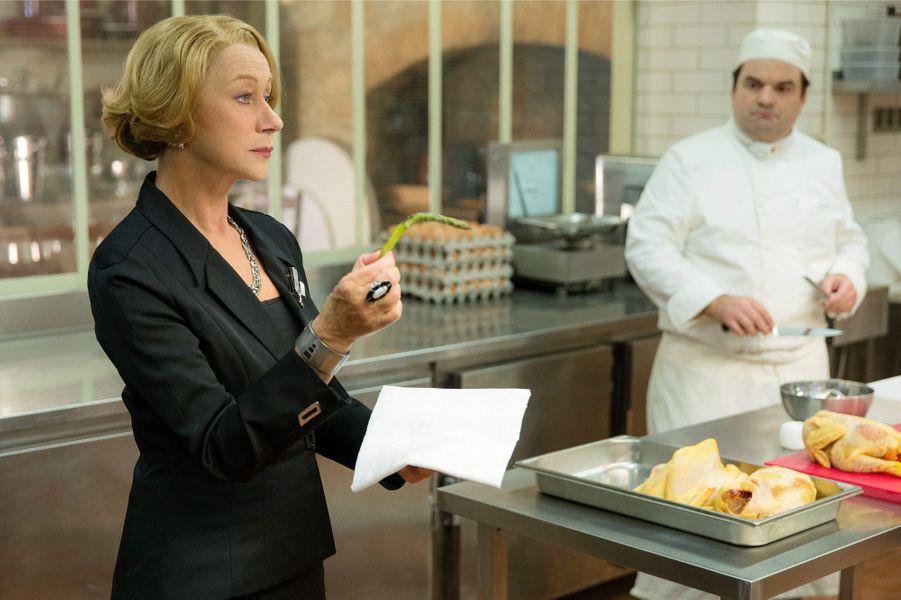 Helen Mirren dans une scène du film «Les recettes du bonheur».