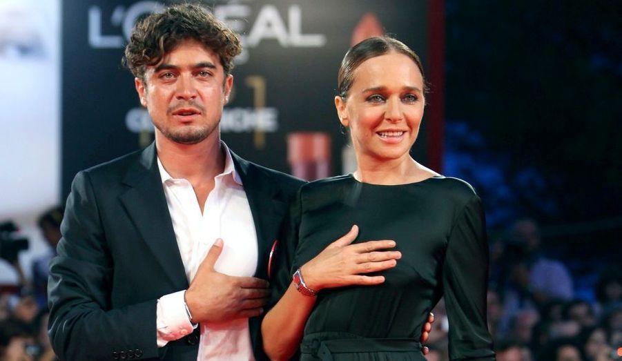Riccardo Scamacio et Valeria Golino