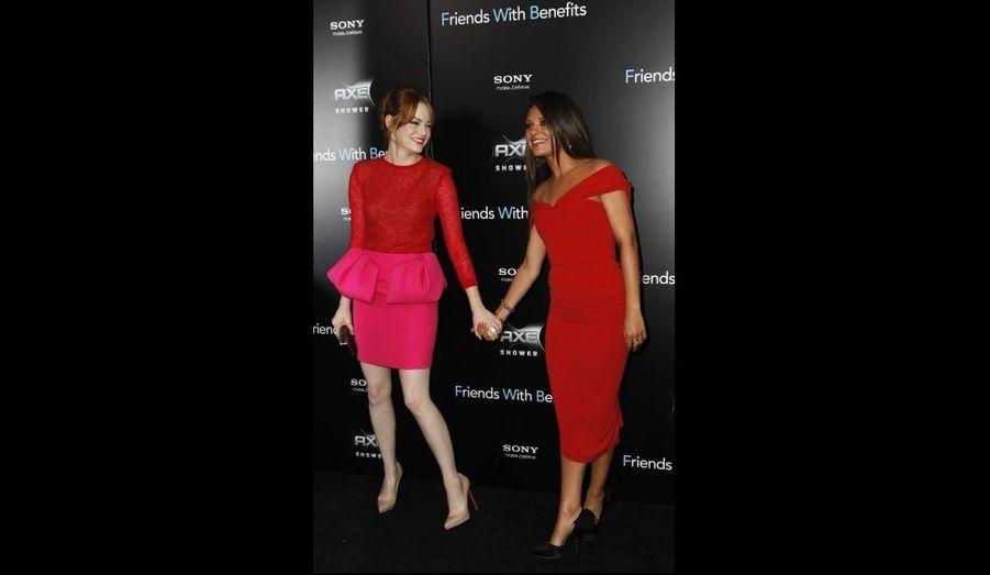 Emma Stone et Mila Kunis