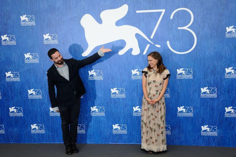 Pablo Larrain et Natalie Portman