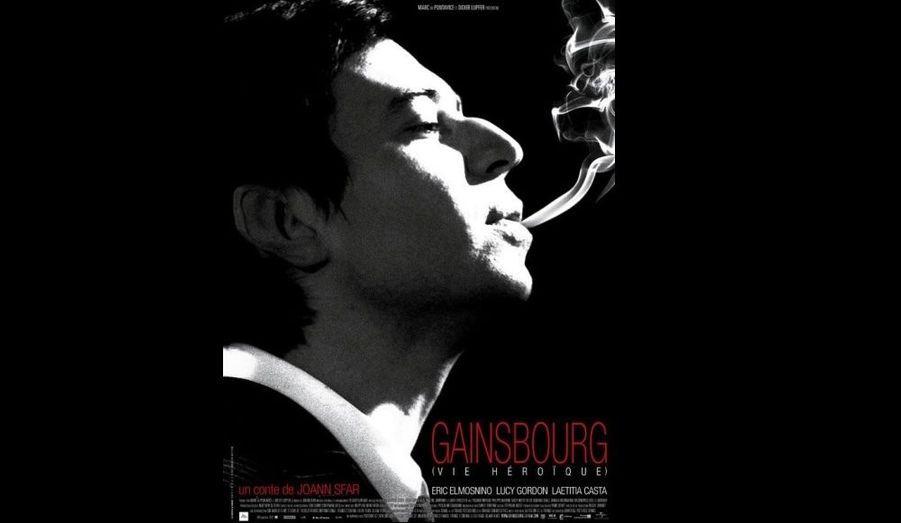 La régie publicitaire de la RATP persiste et signe. Après Jacques Tati et Coco Chanel, Serge Gainsbourg, avec une cigarette sur l'affiche du film qui lui est consacré, en est sa nouvelle victime.