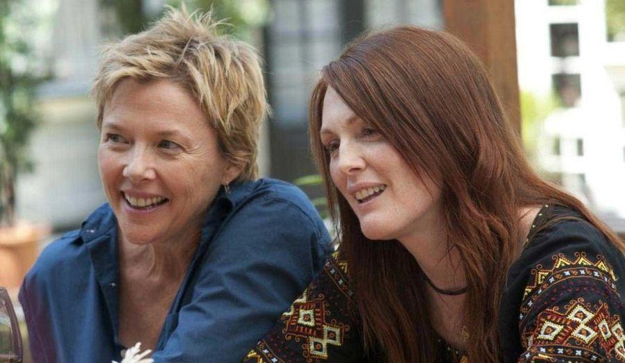 Annette Bening sera bien la principale concurrence à Natalie Portman dans la catégorie de la meilleure actrice. Le film de Lisa Cholodenko a obtenu quatre nominations au total.