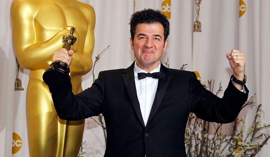 Le compositeur de la musique de «The Artist», Ludovic Bource, peut légitimement triompher: il vient d'être récompensé par un Oscar.