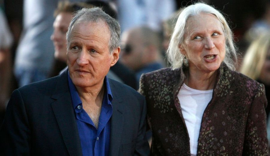 Le réalisateur Michael Mann et son épouse Summer.