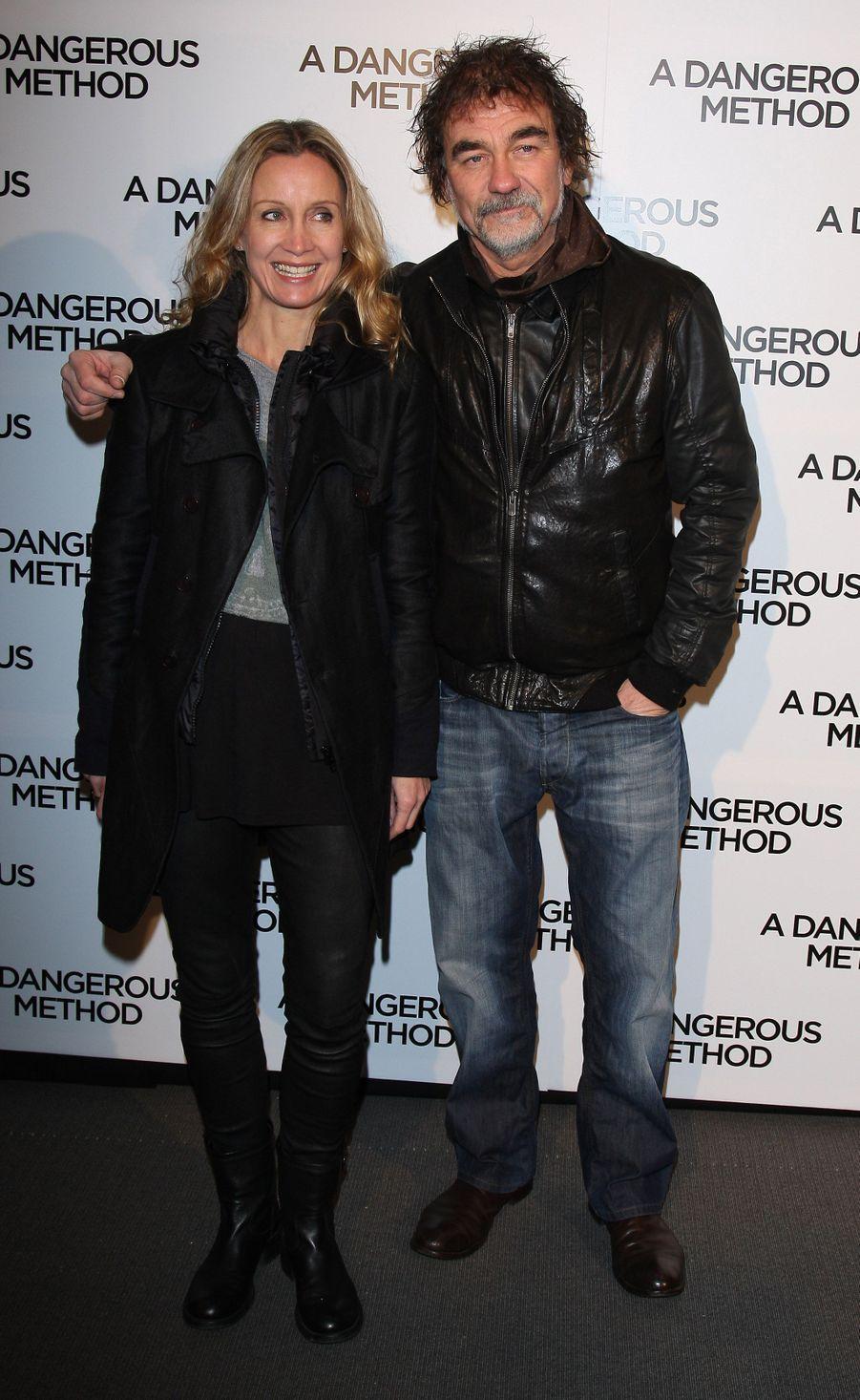 Olivier Marchal et son épouse Catherine