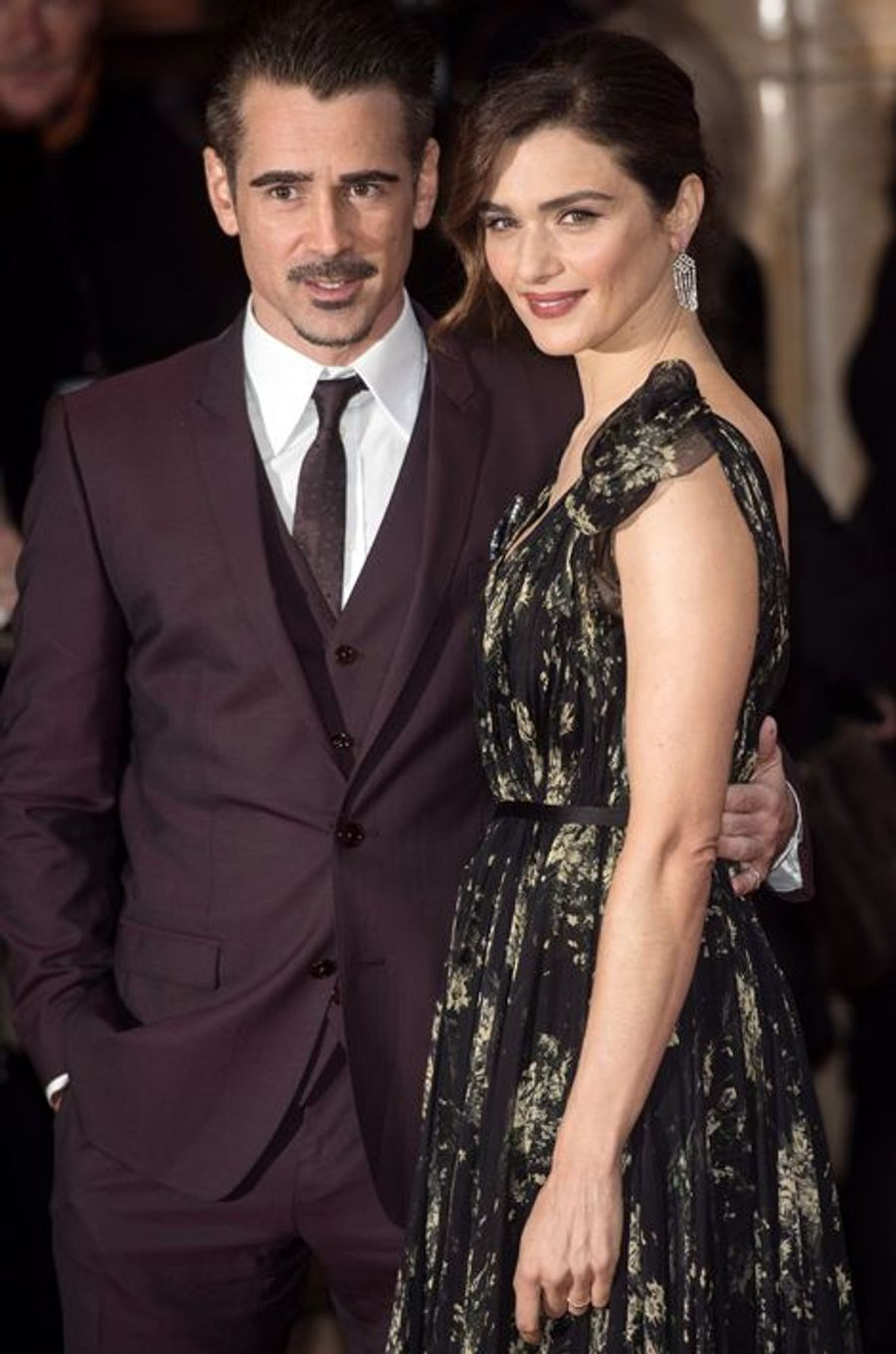 """Rachel Weisz et Colin Farrell présentaient  """"The Lobster"""" au Festival du film de Londres mardi dernier."""