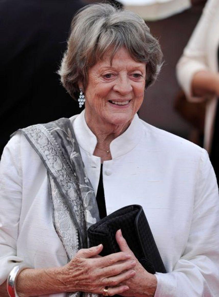 L'actrice joue la légendaire professeur Minerva McGonagall.