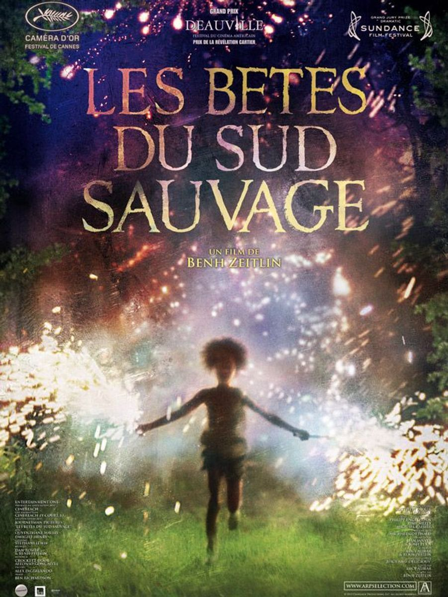 "1.  ""Les Bêtes du sud sauvage"" (Beasts of the Southern Wild) de Benh Zeitlin"