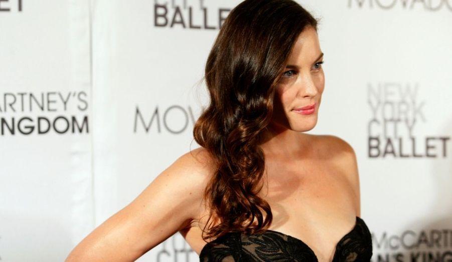 """L'actrice Liv Tyler a assisté à la première du ballet """"Ocean's Kingdom"""", à New York, à l'occasion du grand gala d'automne."""